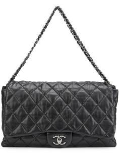 прямоугольная сумка с откидным клапаном Chanel Vintage