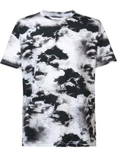 cloud print T-shirt  Zanerobe