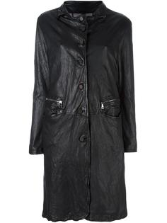 пальто с эффектом помятости Giorgio Brato