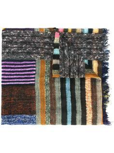 шарф в полоску Pierre-Louis Mascia