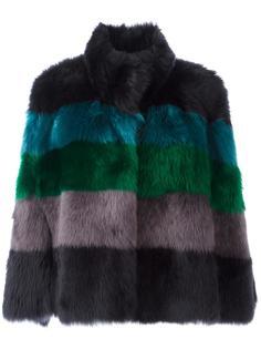 куртка в полоску Emporio Armani