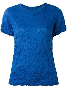 футболка с жатым эффектом Issey Miyake Cauliflower