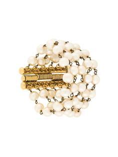 браслет из пяти нитей жемчуга  Yves Saint Laurent Vintage