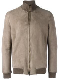 куртка с деталями в рубчик Salvatore Santoro