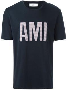 футболка с заплаткой 'Ami ' Ami Alexandre Mattiussi