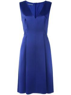 расклешенное платье с V-образным вырезом Alberta Ferretti