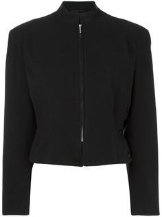 укороченная шерстяная куртка  Yohji Yamamoto Vintage