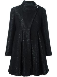 пальто с асимметричной застежкой  Giorgio Armani