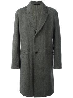 однобортное пальто Lemaire