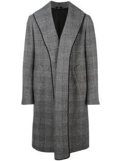 пальто в клетку Z Zegna
