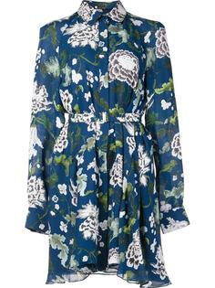 платье-рубашка с длинными рукавами Adam Lippes