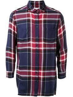 фланелевая рубашка в клетку Fad Three
