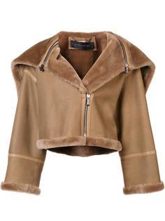 короткая куртка из овчины Barbara Bui