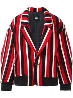 полосатая куртка-бомбер KTZ