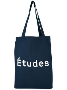 сумка-шоппер с принтом логотипа Études