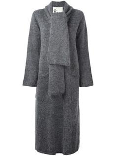 кардиган-пальто с лацканами-шалька 8pm
