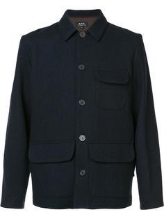 куртка с накладными карманами A.P.C.
