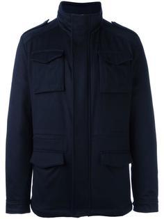 пальто-пуховик с карманами Kiton