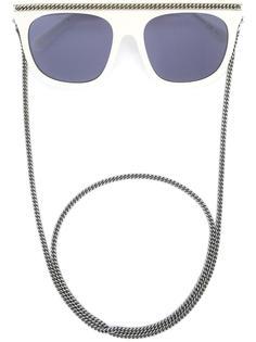 солнцезащитные очки 'Falabella'  с массивной оправой Stella McCartney
