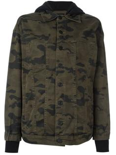 камуфляжная куртка с капюшоном Hudson