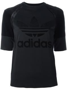 футболка с принтом логотипа Adidas Originals