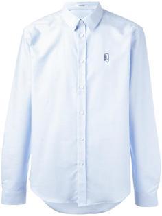 рубашка с вышивкой Carven