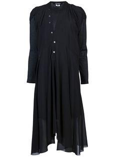многослойное платье с драпированными деталями Junya Watanabe Comme Des Garçons