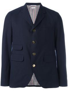 пиджак с застежкой на пуговицы Thom Browne