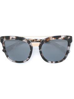 солнцезащитные очки в овальной оправе Dolce & Gabbana