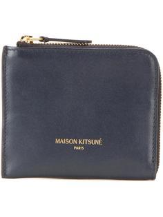 кошелек для монет на молнии Maison Kitsuné