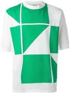 футболка с геометрическим принтом Paul Smith