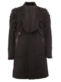 пальто с панельным дизайном и вышивкой The Soloist