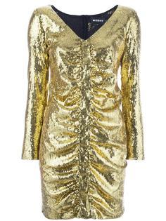 короткое платье с пайетками Misbhv
