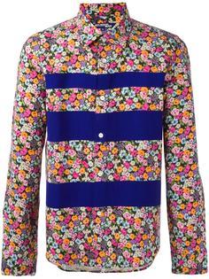 рубашка с цветочным принтом Junya Watanabe Comme Des Garçons Vintage