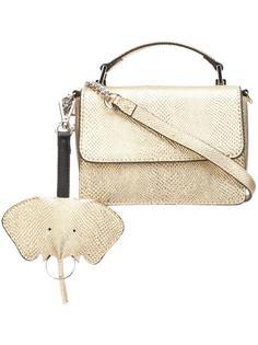 маленькая сумка-тоут Christian Siriano