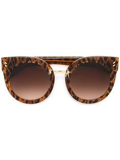 солнцезащитные очки округлой формы 'кошачий глаз' Stella McCartney