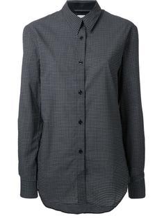 рубашка с заостренным воротником Lemaire