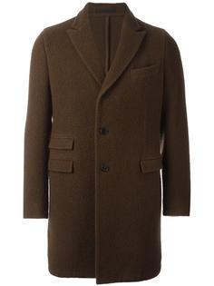 пальто с заостренными лацканами Z Zegna