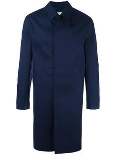 пальто с потайной застежкой Mackintosh