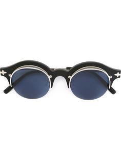 солнцезащитные очки с овальной оправой Matsuda