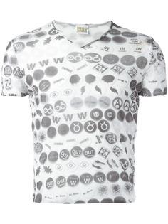 прозрачная двухслойная футболка 'W&LT' Walter Van Beirendonck Vintage
