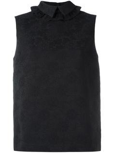 жаккардовая блузка без рукавов Simone Rocha
