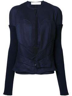 приталенная куртка с поясом Victoria Beckham