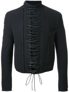 куртка на шнуровке спереди Haider Ackermann