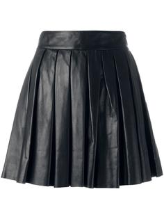 плиссированная мини-юбка  Alice+Olivia