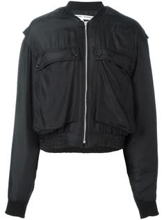 куртка бомбер с накладными карманами Katharine Hamnett