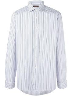 рубашка в тонкую полоску Canali