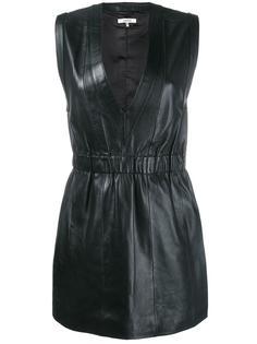 платье мини с V-образным вырезом Ganni