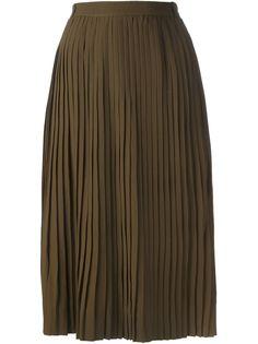 юбка с плиссировкой Jean Louis Scherrer Vintage
