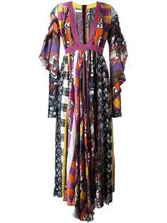 платье с глубоким V-образным вырезом Wunderkind